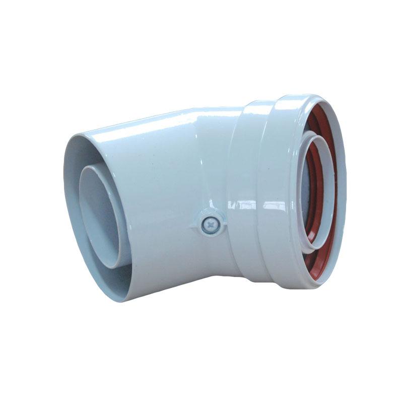 Φ60/ 100mm同轴延长烟道CW-45-01