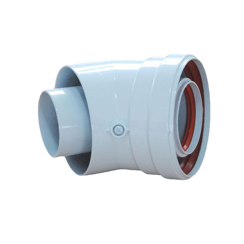 Φ60/ 100mm同轴延长烟道CW-45-02